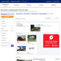 RVs.Autorader.com Search Results Page